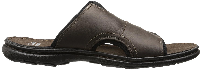 Amazon.com | Clarks Men's Brigham Catch Wedge Sandal, Brown, 11 M US |  Sandals