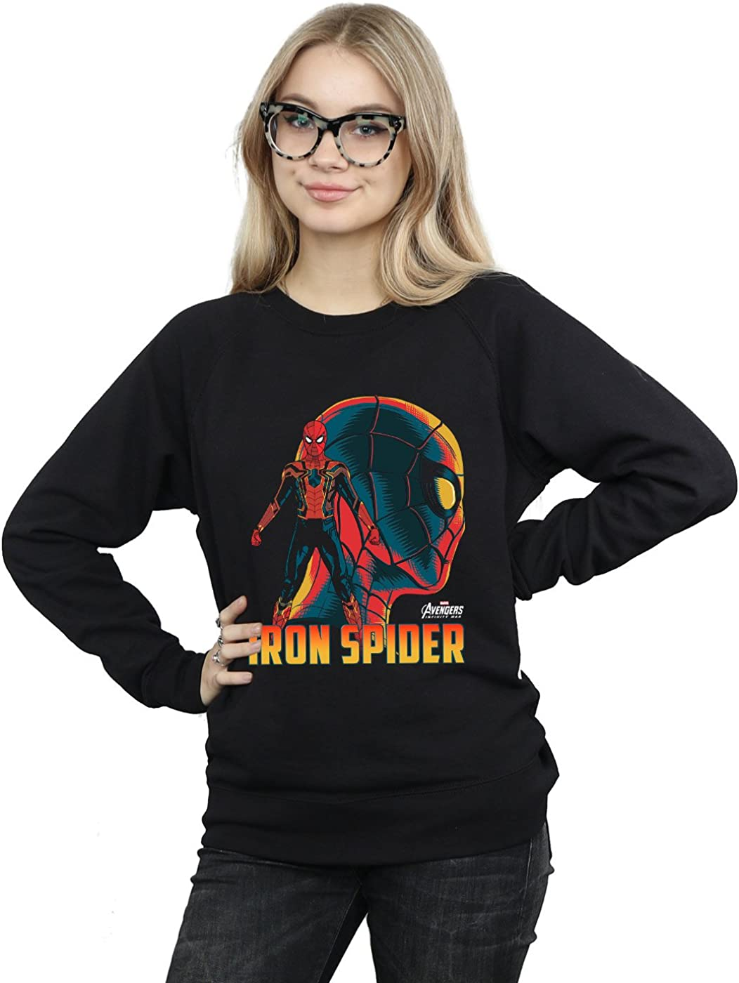 Avengers Mujer Infinity War Iron Spider Character Camisa De Entrenamiento