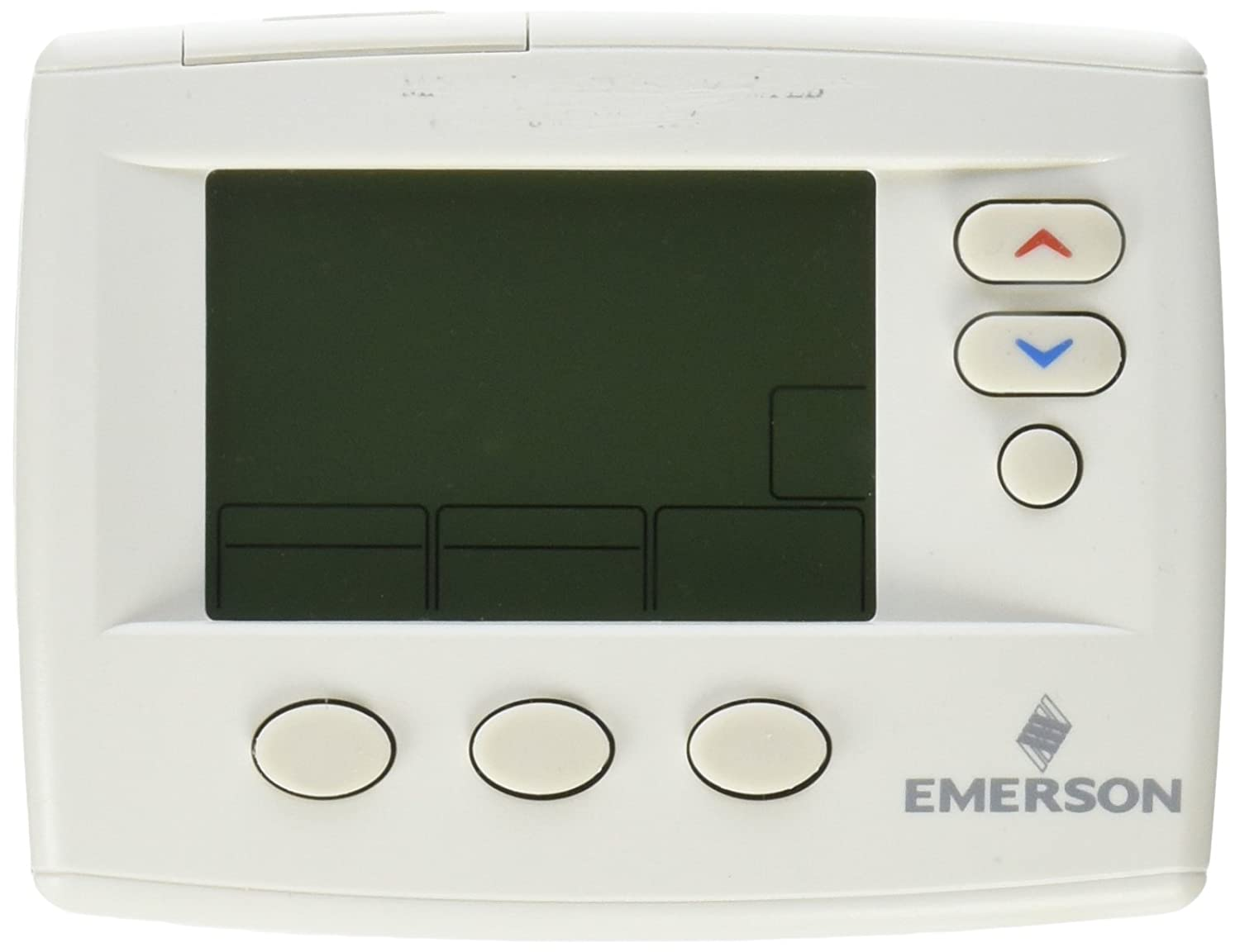 Emerson 1F80-0471 5-1-1 Day Programmable Thermostat for Single-Stage  Systems - Programmable Household Thermostats - Amazon.com