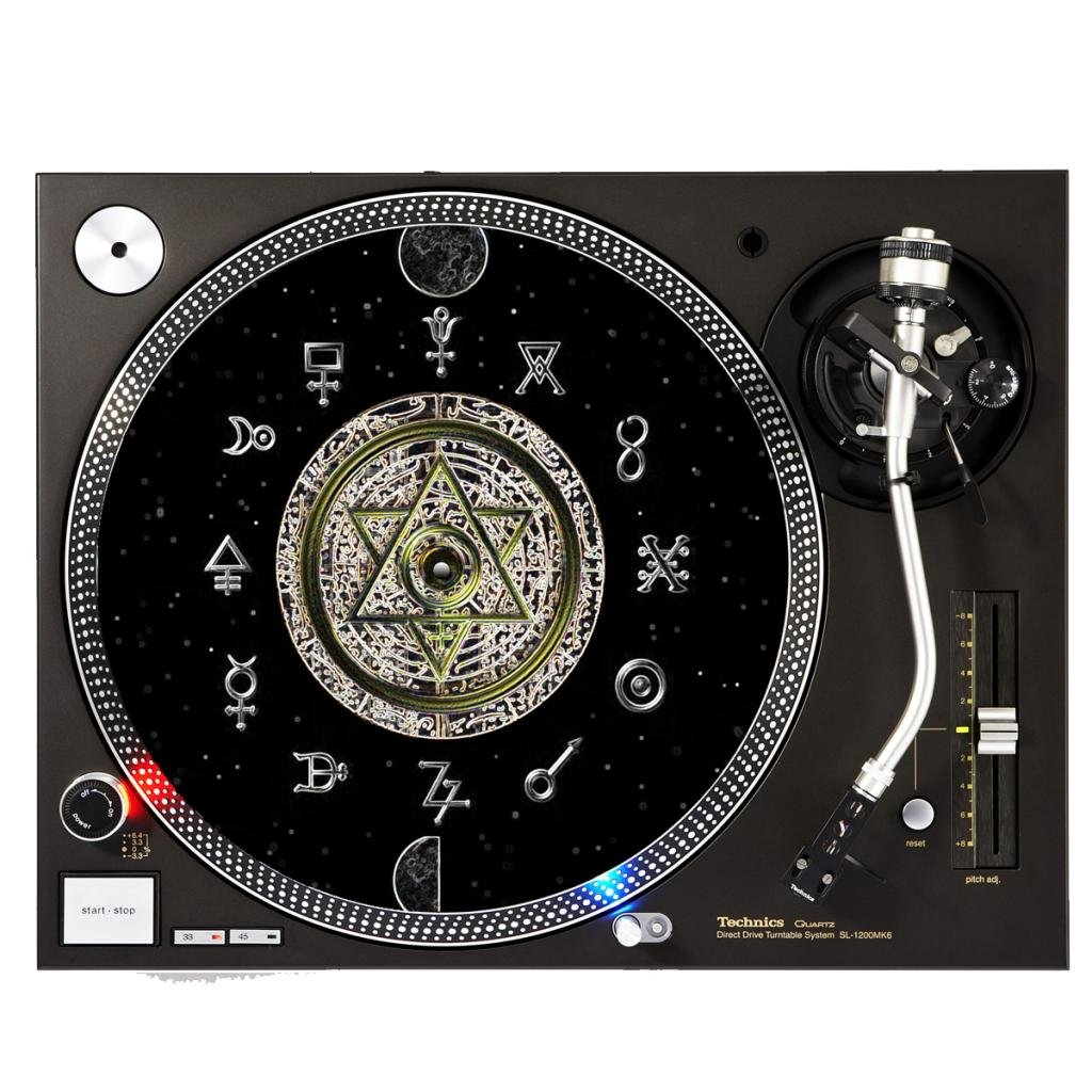 DJ Tocadiscos Tocadiscos - Slipmat para plato: Amazon.es ...
