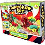 Kandy Toys Kids Dough Molding Modelling Dinosaur Play Set