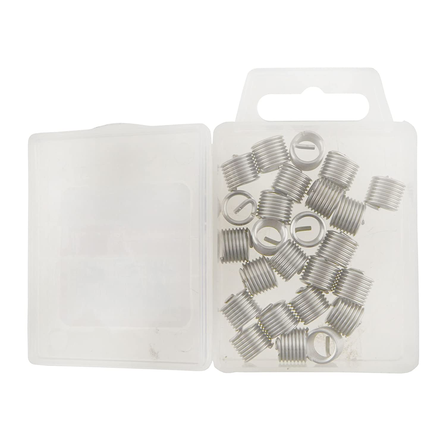 AB Tools-Neilsen Helicoil Type Thread Repair Inserts M8 x 1.25mm 25pc Wire Thread Inserts