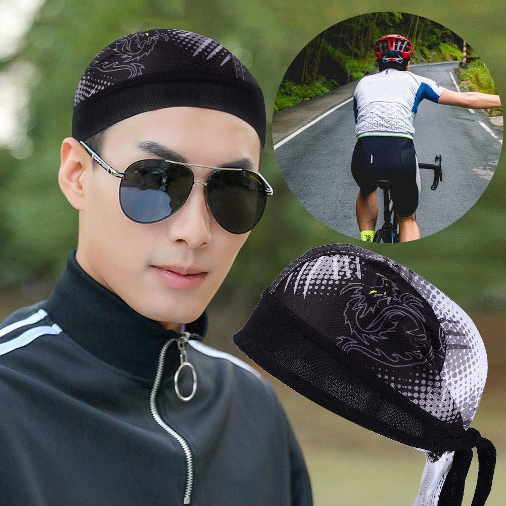 Alomejor Cyclisme Foulard Casquettes V/élo De Refroidissement Chapeau T/ête Respirable Foulard Bandeau pour Sports De Plein Air V/élo Courir Equitation
