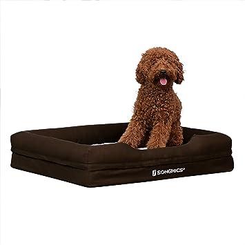 SONGMICS Cómodo Casa para Mascotas, Cama para Perros Perrera Gato del Perro De Perrito Sofa House Bed 90 x 80 x 10 cm PGW53B: Amazon.es: Coche y moto