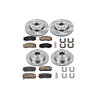 Autospecialty KOE2091 1-Click OE Replacement Brake Kit: Automotive