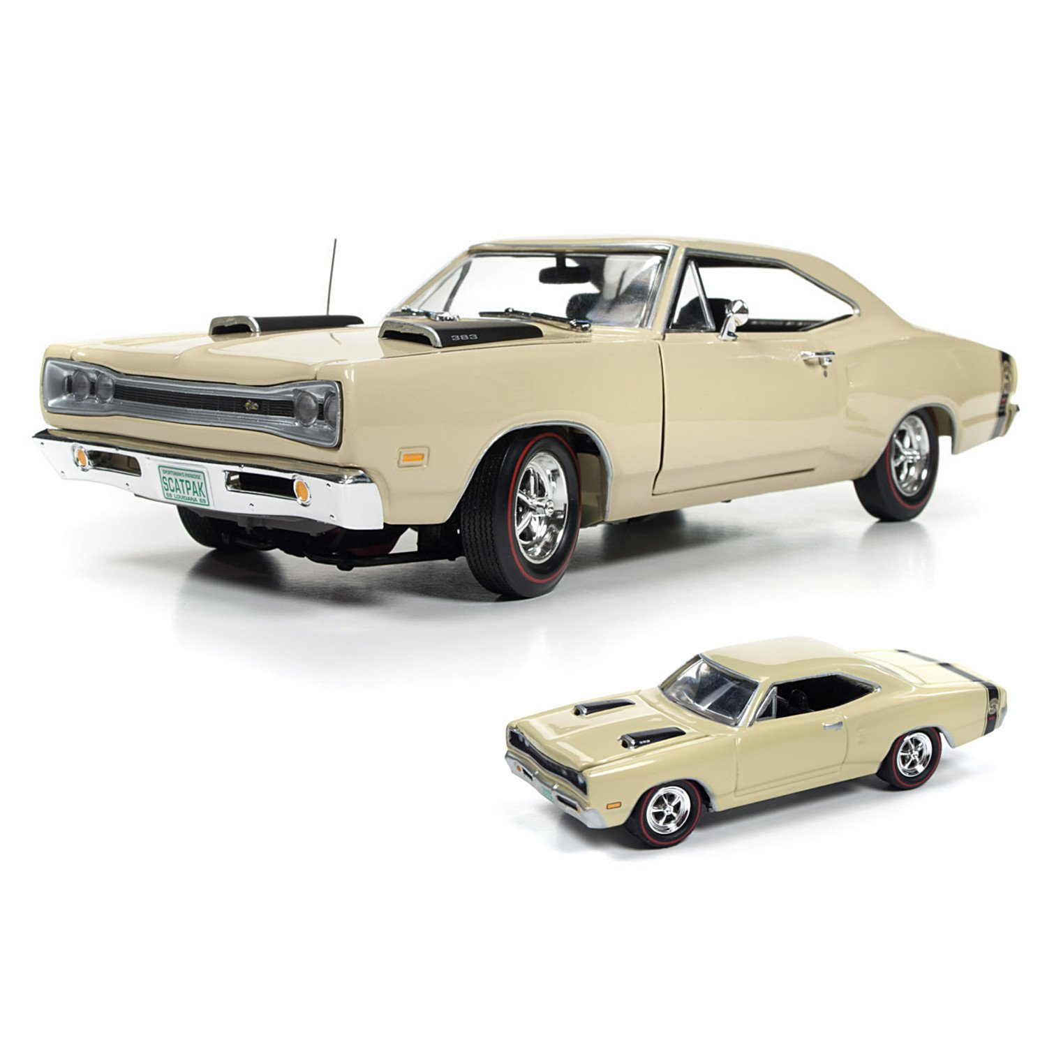 Dodge Collectible: 1969 Dodge Coronet Super Bee Scat Pack 1:18 Scale Diecast Car by The Hamilton Collection