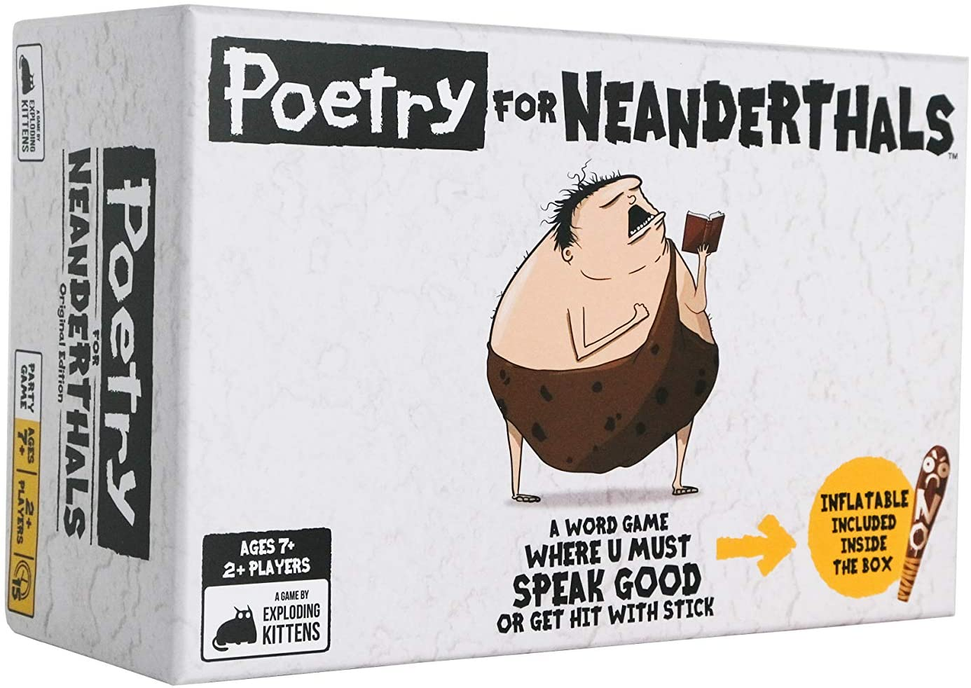 Poetry for Neanderthals by Exploding Kittens - Card Games for Adults, Teens & Kids