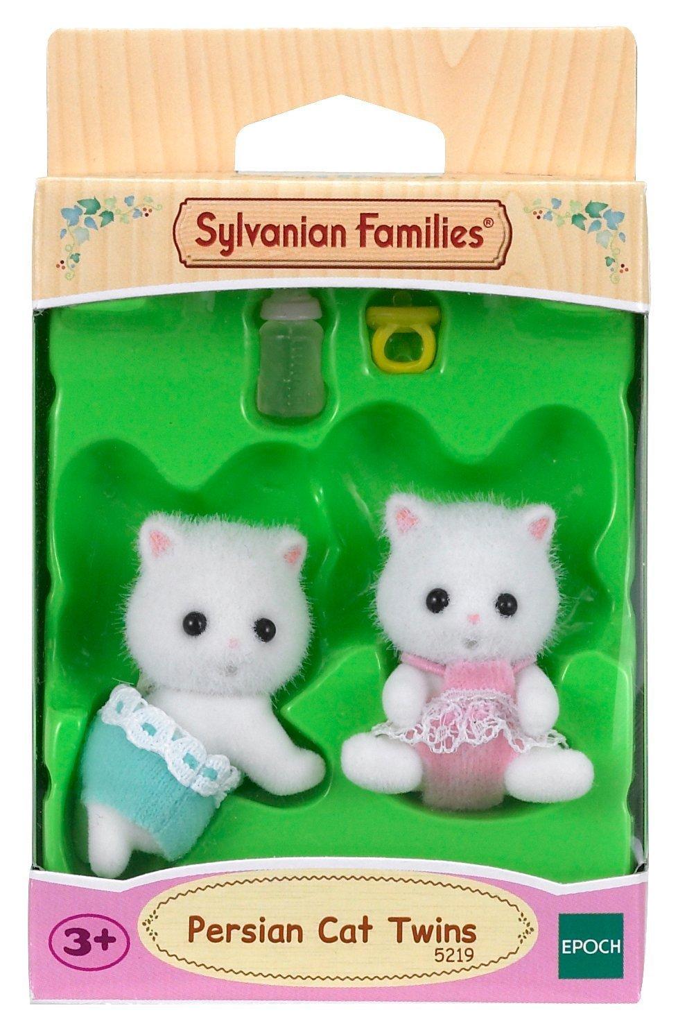 Amazon.es: Sylvanian Families Ensemble de famille Bundle de famille Chat persan et chat persan jumeaux: Juguetes y juegos