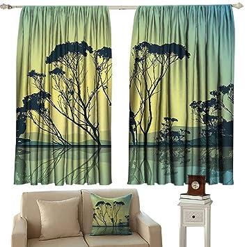 Amazon.com: Balcony Curtains,Apartment Decor Crystal Tree ...