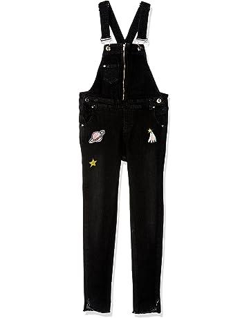 fd287cd0e8e Jessica Simpson Girls  Big Studded Pant Overall
