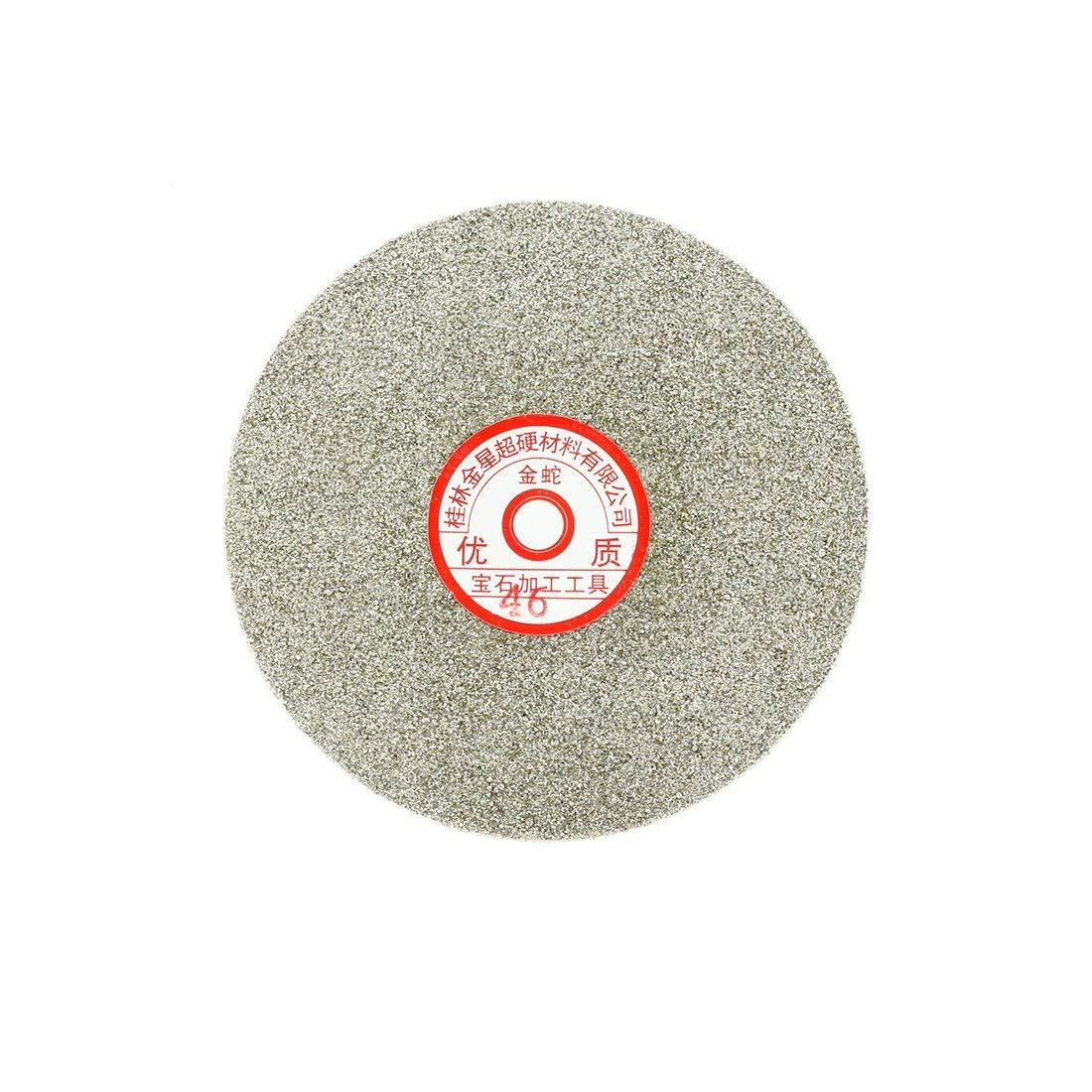 Sourcingmap 6-inch Grit 60 Diamond Coated Flat Lap Wheel Grinding Sanding Polishing Disc