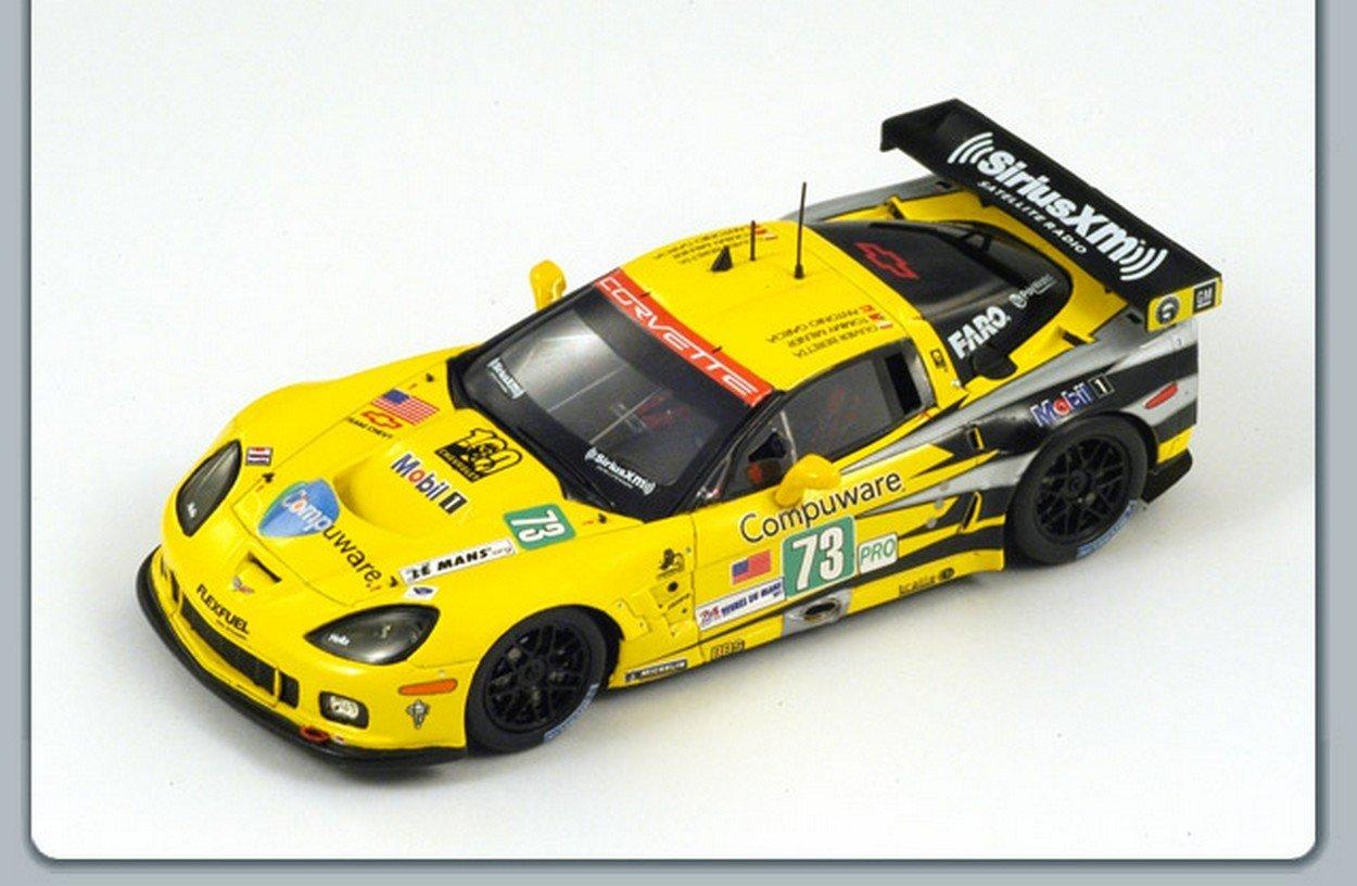 SPARK MODEL S2541 CHEVROLET CORVETTE N.73 11th LM 2011 WINNER LM GTE 1:43 MODEL