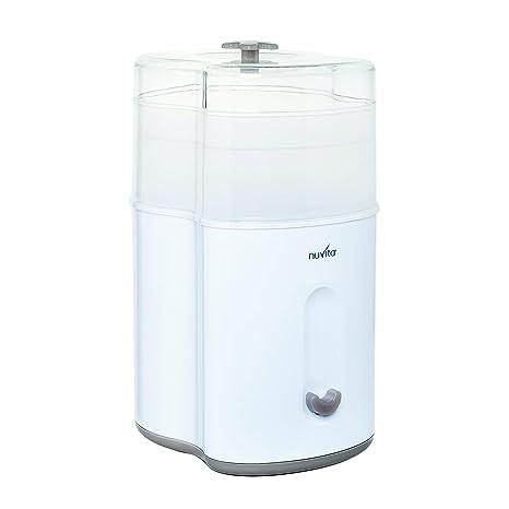 Nuvita 1082 – Esterilizador a vapor compacto – Esterilizador eléctrico de biberón – Caben hasta 5 biberones, tetinas y accesorios – Ecológico - Sin ...