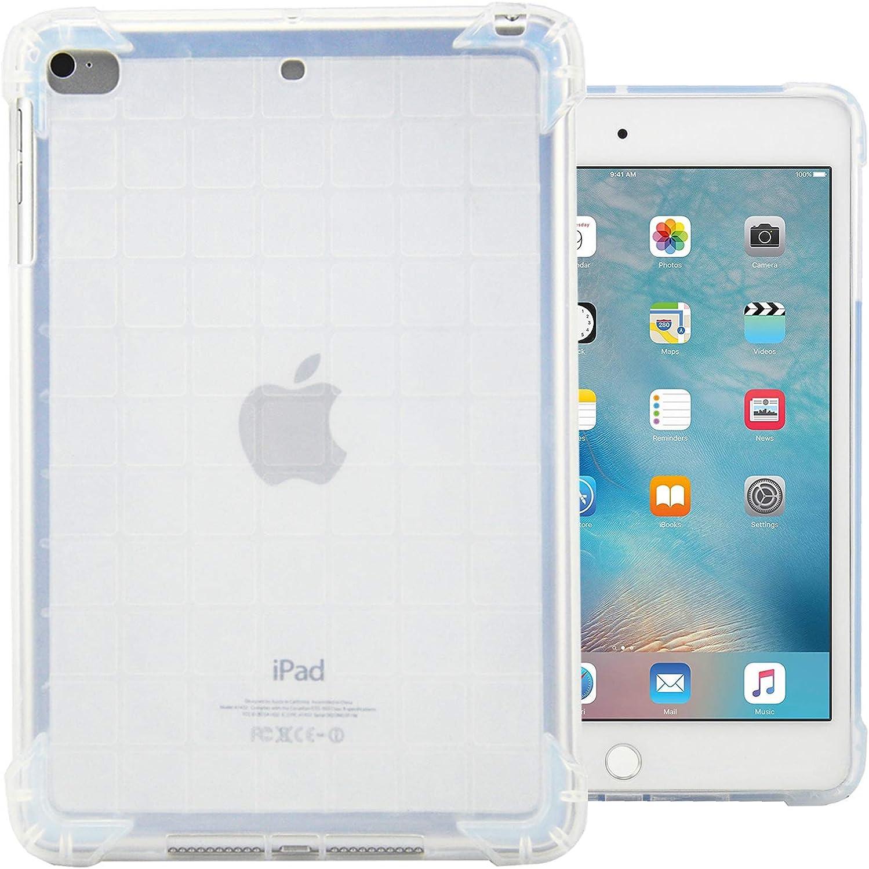 Dteck iPad Mini 1/2/3/4 Case - Ultra Slim Lightweight [Corner Protection/Scratch Resistant] Soft TPU Gel Silicone Back Protective Cover for Apple iPad Mini/Mini 2/ Mini 3/ Mini 4, Clear