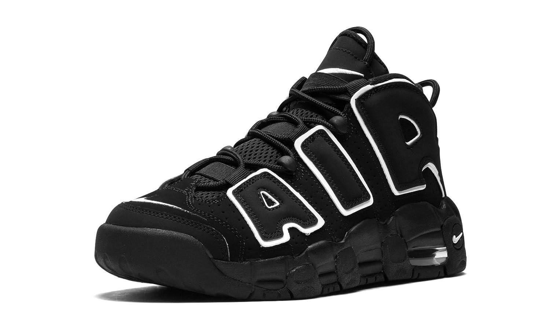 Monarquía interrumpir jerarquía  Buy Nike Air More Uptempo Black/White-Black (GS) US 6. 5y at Amazon.in
