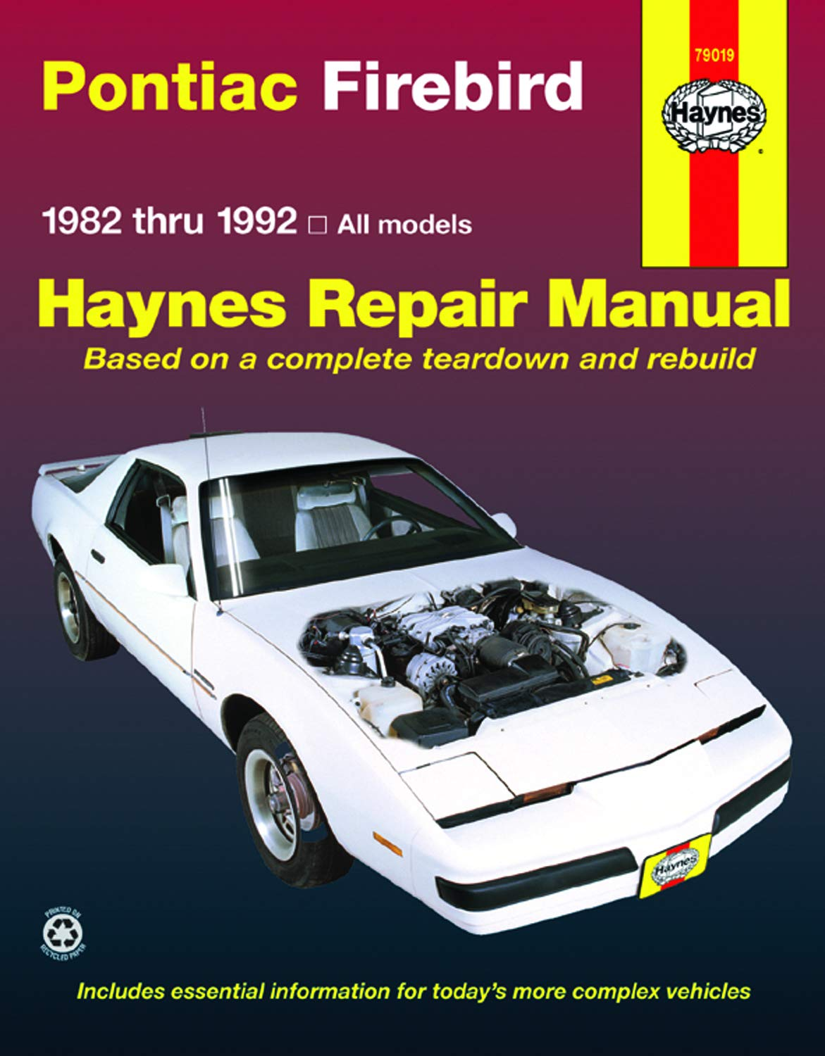 Car Repair And Maintenance >> Auto Parts And Vehicles 1982 1992 Chevrolet Camaro Service
