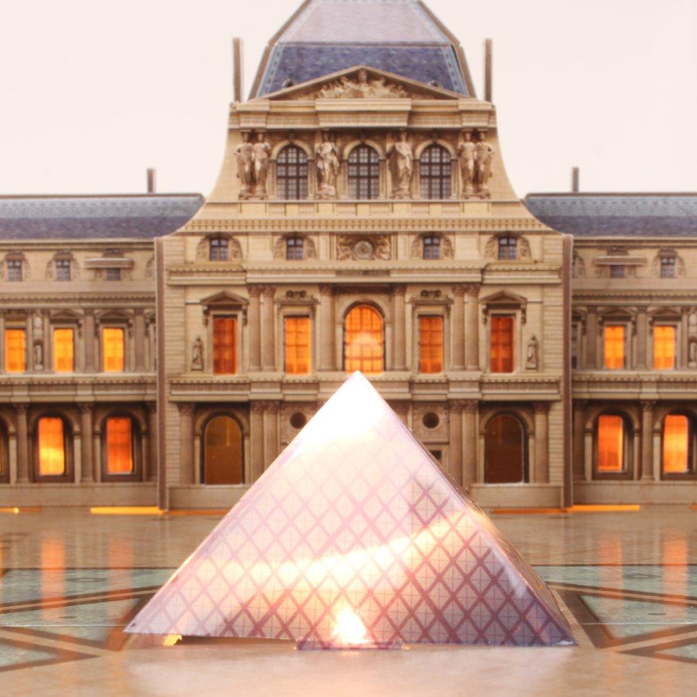 CubicFun - Puzzle 3D LED Museo del Louvre (CPA Toy L517): Amazon.es: Juguetes y juegos