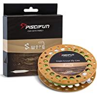 Piscifun Sword Weight Forward Floating Fly Fishing Line with Welded Loop WF3 4 5 6 7 8wt 90 100FT