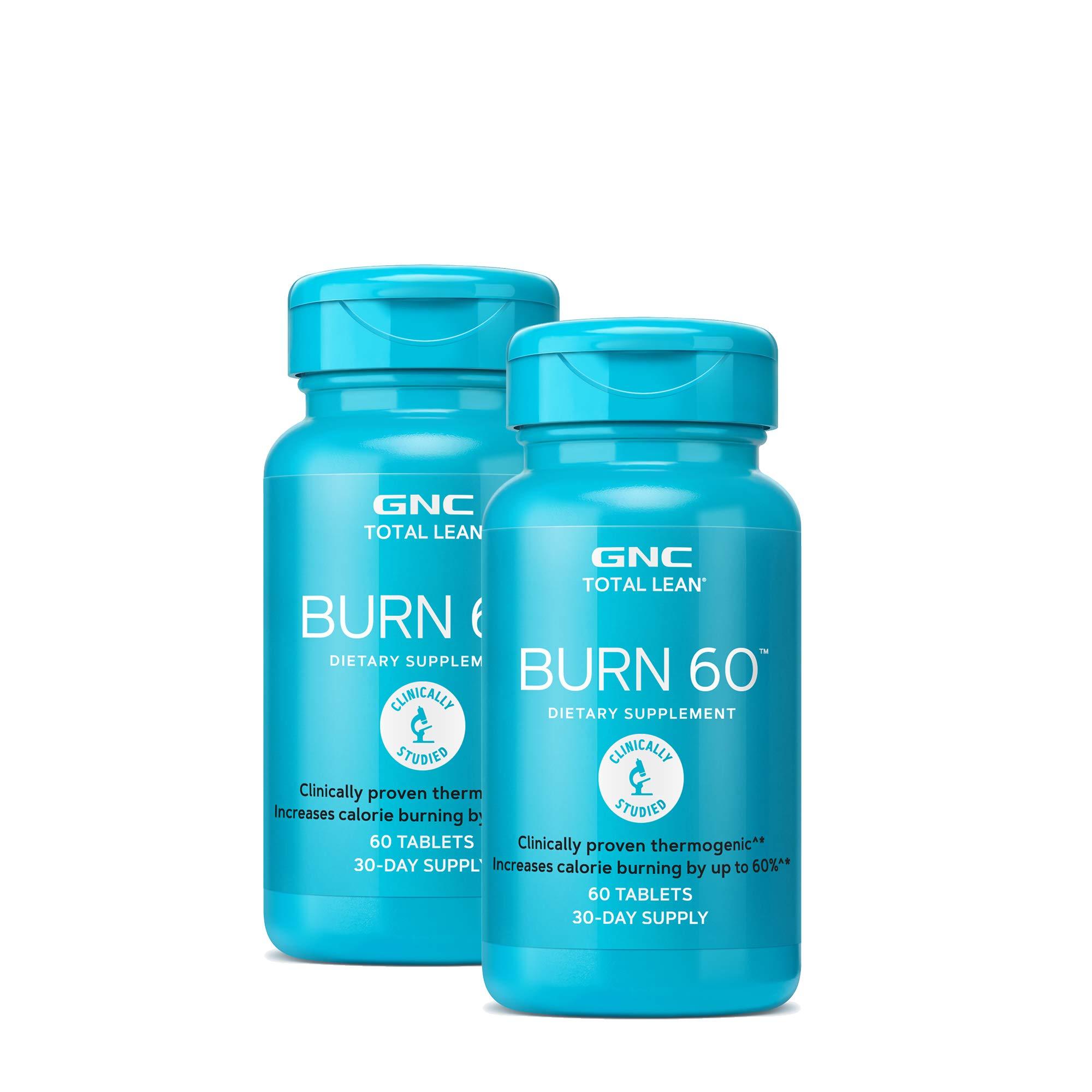 GNC Total Lean Burn 60 - Twin Pack by GNC