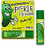 Dill Pickle Lip Balm – Pickle Gifts – Funny Gifts for Men – Flavored Lip Balm – Weird Stocking Stuffers – Funny Pickle Gifts – Dill Pickles – Unusual Gag Gifts – Unisex Gifts