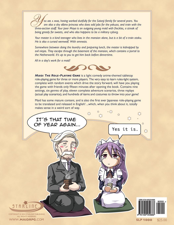 Maid: The Role-Playing Game: Amazon.es: Ryo Kamiya, Ewen ...