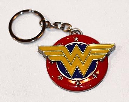 Wonder Woman Llavero de metal: Amazon.es: Oficina y papelería