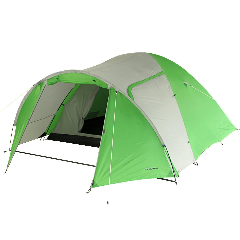 Fridani Camping-Zelt DSG 400 Kuppelzelt mit Schlafkabine für 4 Personen Outdoor Familienzelt mit Vorraum, Dauerbelüftung, wasserdicht mit 3000mm Wassersäule