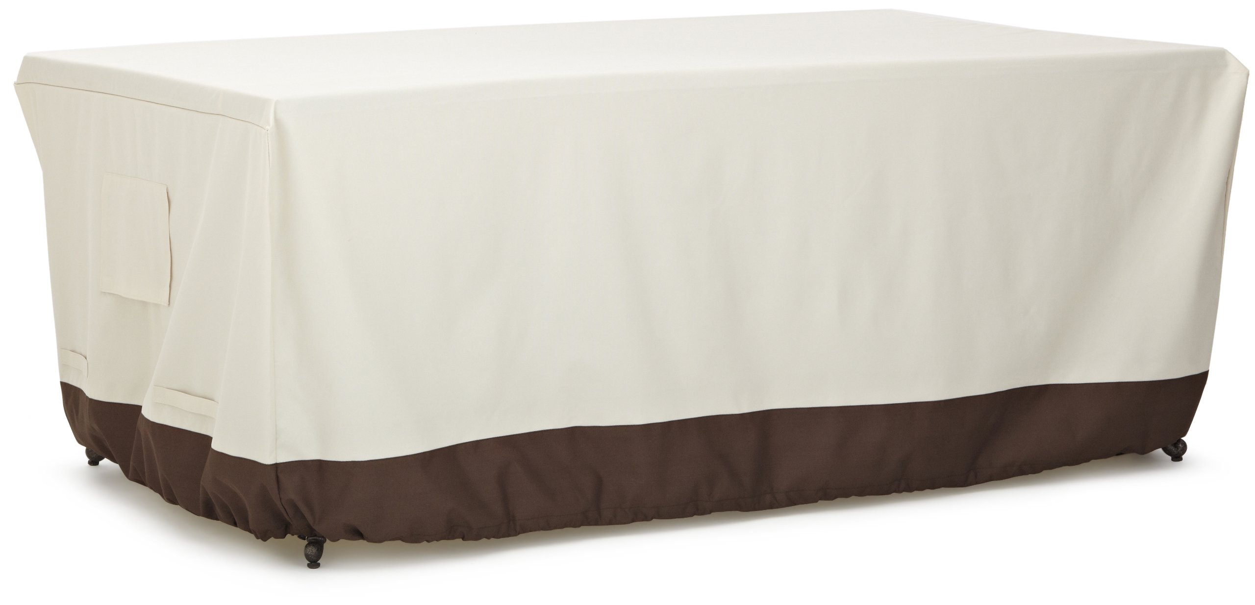 AmazonBasics Dining Table Outdoor Patio Furniture Cover, 72 Inch by AmazonBasics