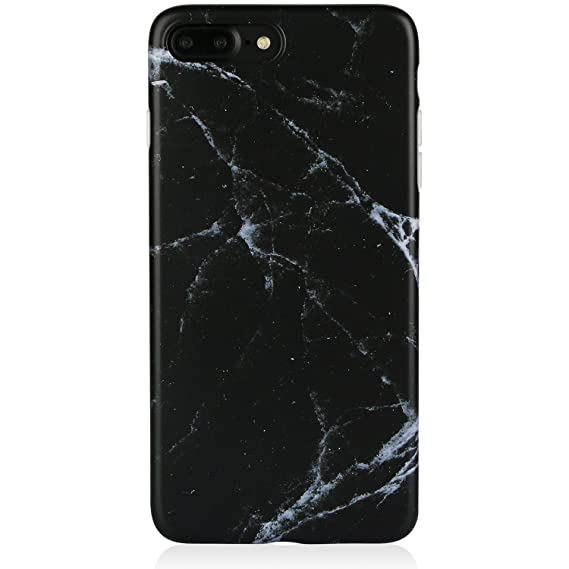 Amazon.com  Marble iPhone 7 8 Plus Case Black for Men a899f10f39