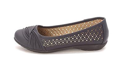 White Mountain Frauen Sarlow Geschlossener Zeh Gleit Sandalen