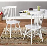 Simple Living Venice Dining Chairs (Set of 2) White