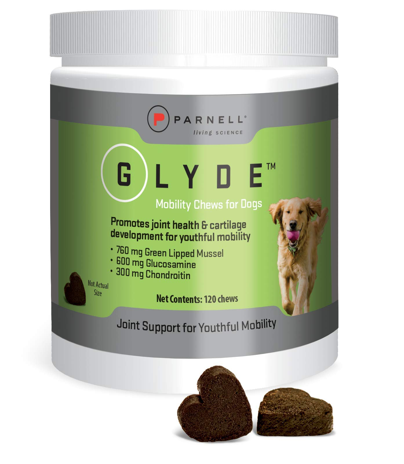 Parnell 120 Count Glyde Mobility Chews for Dogs by Parnell