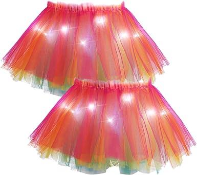 Colorful LED Tutu