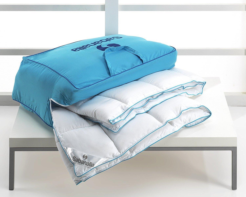 Sabanalia - Edredón nórdico, fibra 400 g Xtreme (varios tamaños disponibles), cama