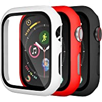 Charlam Compatible with Apple Watch Case 40mm iWatch SE Series 6 5 4 with Screen Protector, Slim Thin Bumper Accessories…