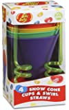 Jelly Belly Silicone Cups and Swirl Straws