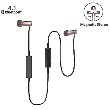 niubee magnético Bluetooth auriculares, Bluetooth auriculares para Running, 4,1 auriculares inalámbricos para