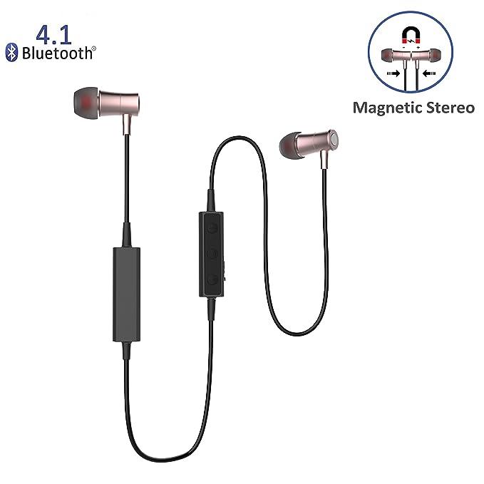 niubee magnético Bluetooth auriculares, Bluetooth auriculares para ...