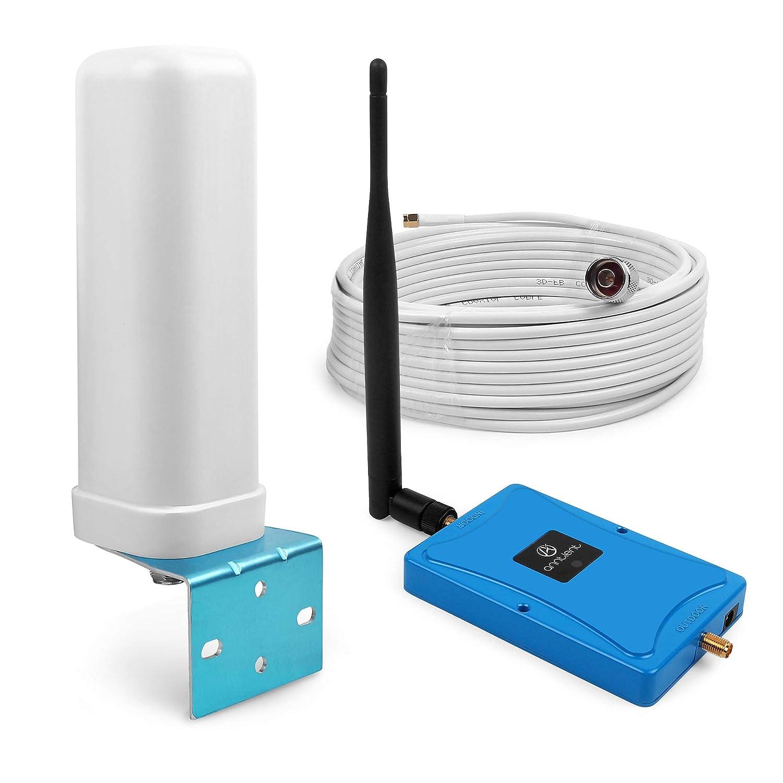 ANNTLENT B20 800MHz 70dB 4G LTE Amplificateur Ampli de Signal Mobile 4G R/é p/é teur de Signal Booster Antenne Omnidirectionnelle pour Maison Bureau ANNTLENT Ltd AN0304