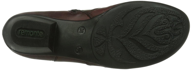 Remonte Remonte Damen Damen Damen Kurzschaft Stiefel  Rot (35) 554455