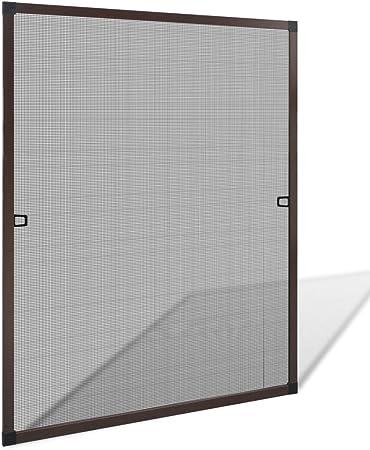 Moustiquaire fenêtre Grille Mouches Protection Protection Insectes Alu-Cadre Protection Moustiques
