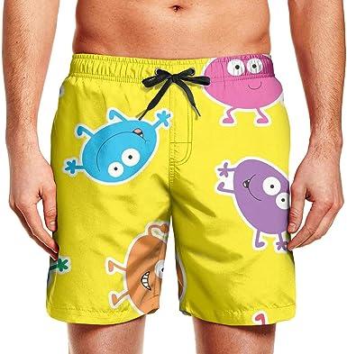 Eye Art Men/'s Beach Board Shorts Quick Dry Swim Truck Shorts