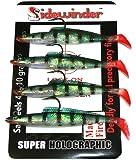 Sidewinder Sandeels Mackerel Fire Fishing Lures