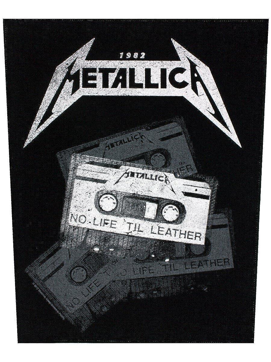 Metallica Back Patch: No Life 'til Leather