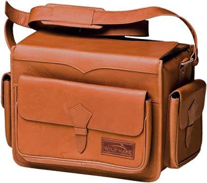 16673241dff Amazon.com   Wild Hare Shooting Gear Leather Range Bag Dusk   Sports ...