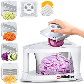 Mueller 8-in-1 Spiral-Ultra Multi-Blade Spiralizer