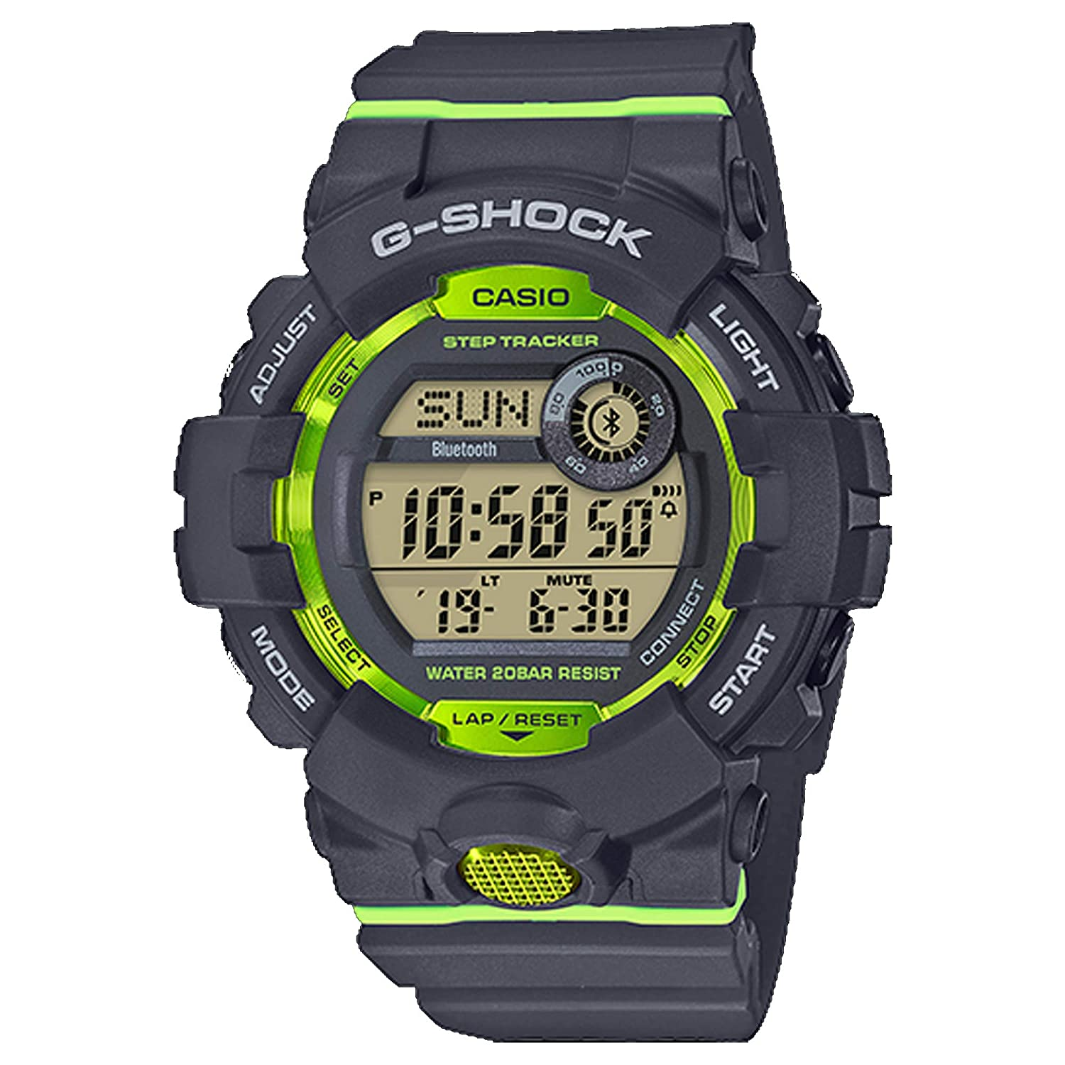 Amazon.com: G-Shock Mens GBD800-1 Bluetooth G-Squad Digital Watch, Black/Red (BLKRED/1), One Size: Watches