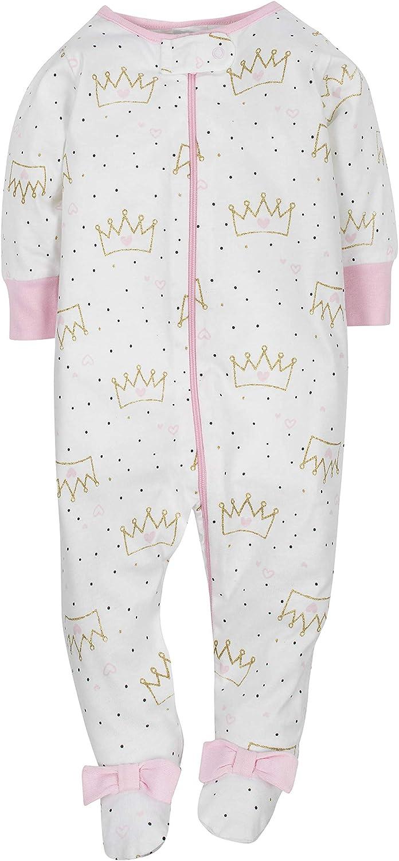Gerber Baby-Girls 4-Pack Sleep N Play Sleepers
