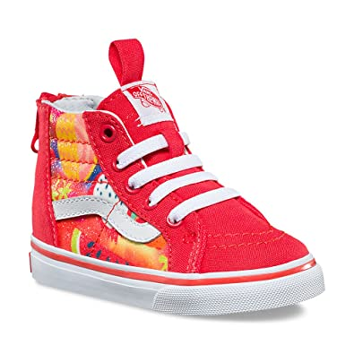 3873817fdf0 Image Unavailable. Image not available for. Color  Vans SK8-Hi Zip (Glitter  Fruits) Fashion Sneakers ...