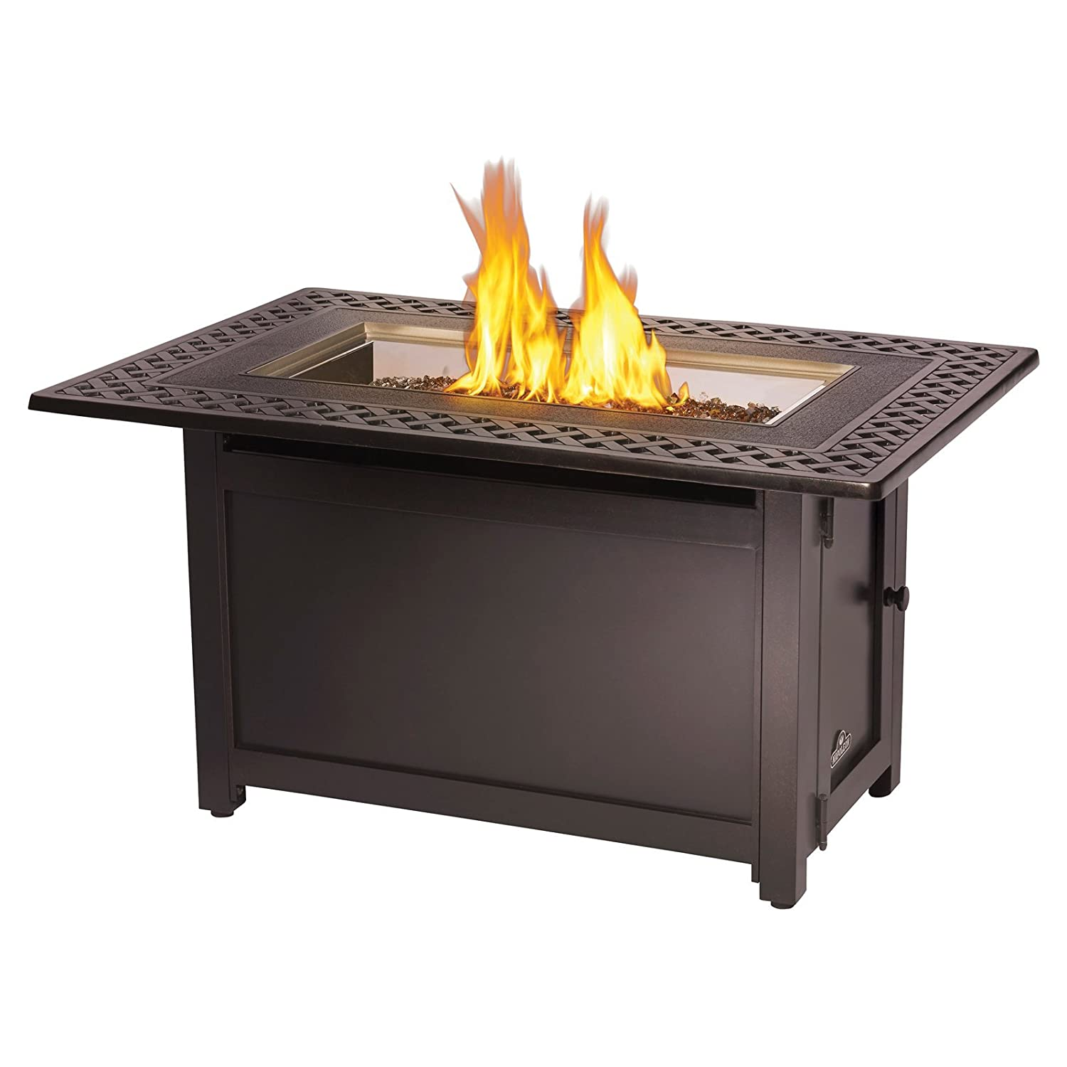 Amazon Napoleon Victorian Rectangle Patioflame Gas Fire Pit